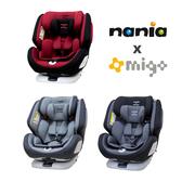 Nania 納尼亞 納歐聯名款 0-12歲 Isofix 360度 汽車安全座椅 FB00360