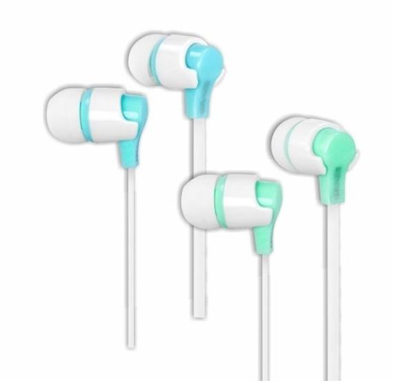【超人生活百貨】KINYO EMP-45 粉彩造型耳機 有線入耳式耳機 柔軟矽膠耳塞,遮音性高