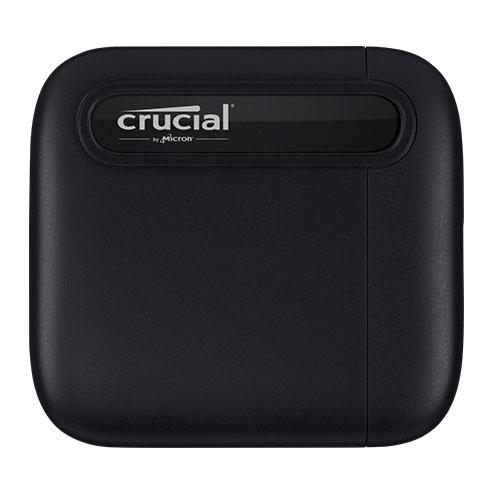 Micron 美光 Crucial X6 2TB U3.2 Type C 外接式 SSD 固態硬碟 行動硬碟
