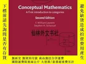 二手書博民逛書店【罕見】Conceptual MathematicsY27248 F. William Lawvere Cam