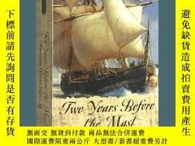 二手書博民逛書店Two罕見Years Before the Mast 英文原版書