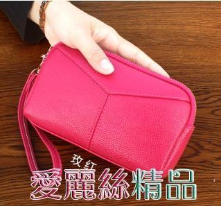 手拿包日韓時尚手拿包女大容量貝殼包女士手抓包零錢包小包包交換禮物