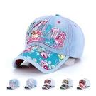 棒球帽 牛仔布玫瑰花-時尚俏麗情人節生日禮物女鴨舌帽6色73da2【時尚巴黎】