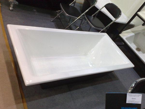 【麗室衛浴】BATHTUB WORLD  301A 高級鑄鐵獨立浴缸   170*79*51CM
