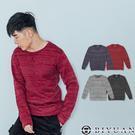 針織刷毛大學T【JG5950】OBI YUAN 韓風混色厚織針織毛衣 共4色