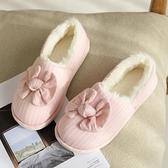 月子鞋秋季包跟產后可愛產婦鞋子12月份保暖棉拖鞋厚底月子拖鞋冬 童趣屋  新品