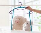 [拉拉百貨] 好收納 折疊 晾曬網袋 曬枕頭 曬靠墊 洗曬 晾衣架 曬布偶 枕頭 娃娃 衣架 輕巧