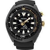 SEIKO 精工 PROSPEX特別版GMT潛水200米手錶-黑/48mm 5M85-0AB0K(SUN045J1)