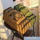 大容量旅行包 加厚帆布超大容量長途手提行李包男單肩旅行袋旅游民工摺疊衣服包 快速出貨