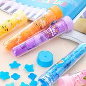 【BlueCat】Soft Soap花香精靈試管花朵造型攜帶式洗手紙香皂盒