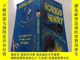 二手書博民逛書店horrid罕見henry and the zombie vampire:可怕的亨利和僵屍吸血鬼.Y21282