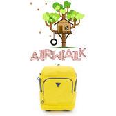 美國AIRWALK(KIDS) - 都市小遊俠 後開式多功能平板後背包-黃