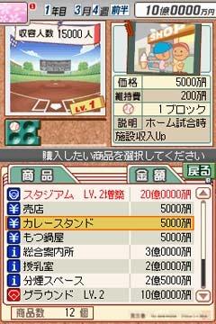 NDS 模擬職棒 亞洲日文版