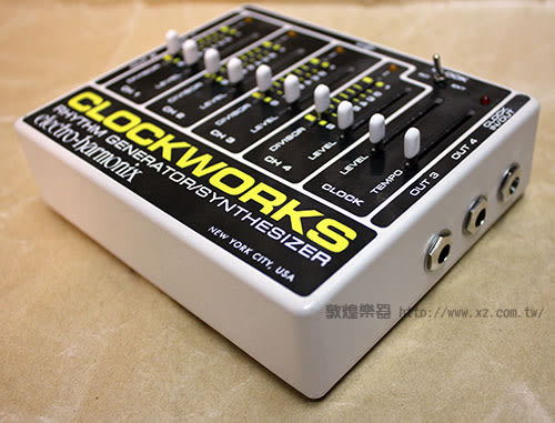【敦煌樂器】Electro Harmonix Clockworks 節奏/合成效果器