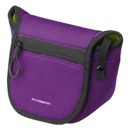 ◎相機專家◎ HAKUBA PIXGEAR SLIM FIT CAMERA CASE S款 紫色 相機套 相機包 公司貨HA28973