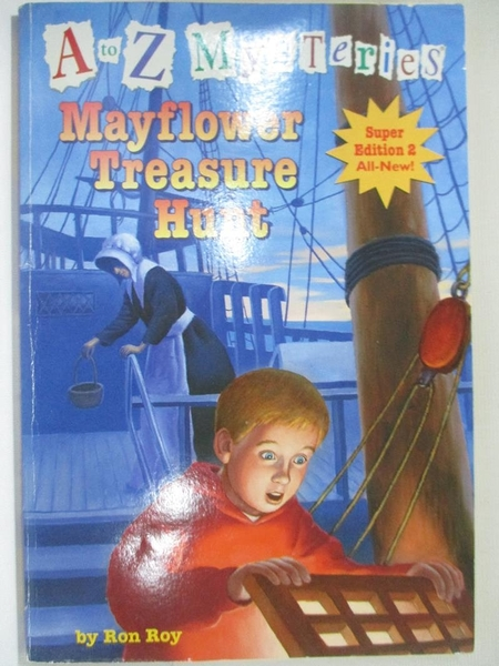 【書寶二手書T5/原文小說_HZX】Mayflower Treasure Hunt_Roy, Ron/ Gurney, John Steven (ILT)