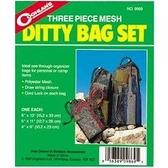 【速捷戶外露營】COGHLANS #9869 網狀收納袋 MESH DITTY BAG SET