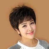 短假髮(真髮絲)-時尚熟齡逼真蓬鬆女短髮2色73fi16【時尚巴黎】