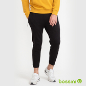 【歲末出清】針織束口長褲02黑-bossini男裝