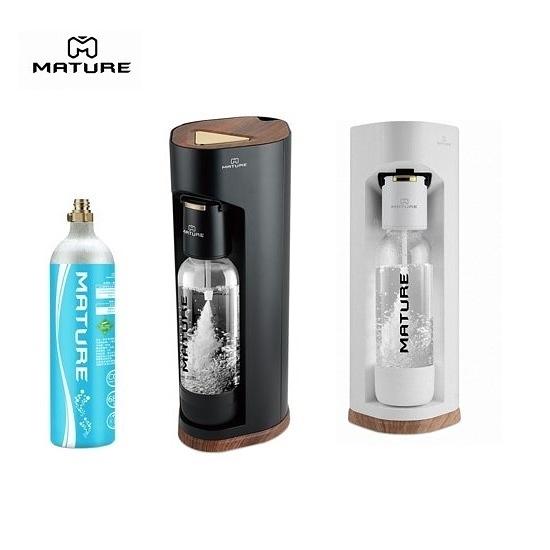MATURE美萃 Luxury440系列氣泡水機 (主機+氣瓶680g x1+寶特瓶x2)