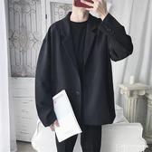 西裝外套旋律風車2019新款休閑西服男寬鬆韓版便裝外套夏季西裝上衣帥氣潮 非凡小鋪