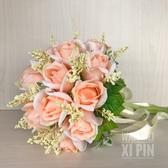 仿真玫瑰新娘結婚手捧花歐式