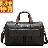 行李袋-肩背韓版超大容量時尚大氣多口袋男手提包66b49[巴黎精品]