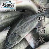 新鮮鮮嫩 加州鱸魚 / 大口黑鱸 ( 600g±10% _ 尾 ) 【大溪現流】