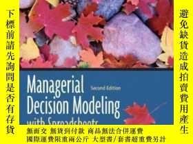 二手書博民逛書店Managerial罕見Decision Modeling With Spreadsheets (2nd Edit