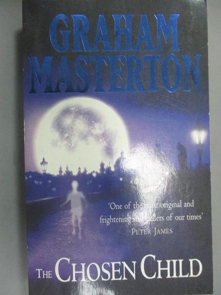 【書寶二手書T1/原文小說_KIJ】The Chosen Child_Graham Masterton