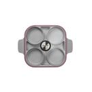 NEOFLAM Steam Plus Pan 雙耳烹飪神器&玻璃蓋(IH適用)-丹麥粉