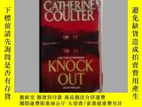 二手書博民逛書店英文原版罕見Knock Out by Catherine Cou