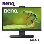 BenQ 明基 SW271 27型 4K HDR專業色彩管理螢幕