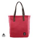 秋冬溫暖 刷毛 手提包 肩背包 粉紅色 AMINAH~【am-0203】