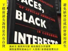二手書博民逛書店BLACK罕見FACES,BLACK INTERESTSY5834 Carol M.Swain Harvard