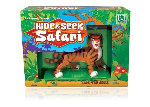 [楷樂國際] 捉迷藏之非洲狩獵-老虎 Hide & Seek Safari - Tiger#R&R Games 桌遊