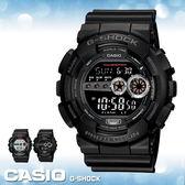 CASIO手錶專賣店 卡西歐 G-SHOCK GD-100-1B 電子錶 高亮度LED  BIG-G大錶徑  橡膠錶帶
