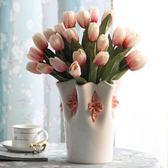 陶瓷花瓶客廳餐桌擺件現代簡約家居裝飾品電視櫃新房擺設結婚禮物   遇見生活