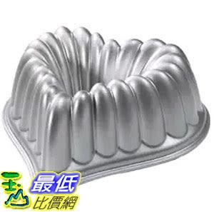 [105美國直購] Nordic Ware 55548 愛心蛋糕模具 烤盤 Cast-Aluminum Elegant Heart Bundt Pan