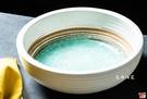 日式餐具 綠如意系列 8吋厚缽  沙拉碗 水果碗 冰品碗 套組餐具系列 堯峰陶瓷