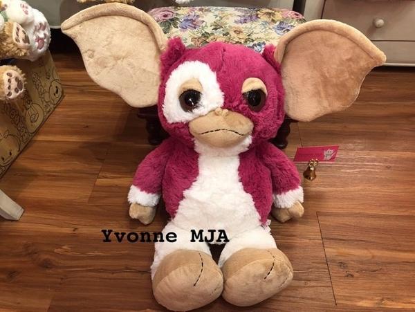 *Yvonne MJA* 日本限定限量正版 GREMLINS 小精靈 小魔怪 娃娃 現貨實拍 限量桃色