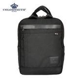 【COLORSMITH】BM.背帶可收納方形背包-黑色.BM1374-A-BK