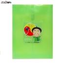 【HFPWP】10元 綠色立體直式文件袋 台灣製 CKB118-4