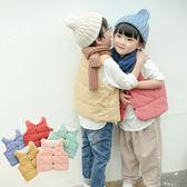 童背心 韓版羽絨棉保暖背心 W78002 AIB小舖