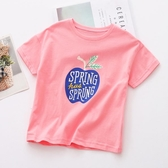 女童短袖T恤兒童夏裝男新款寶寶純棉打底衫中小童洋氣半袖潮 伊衫風尚