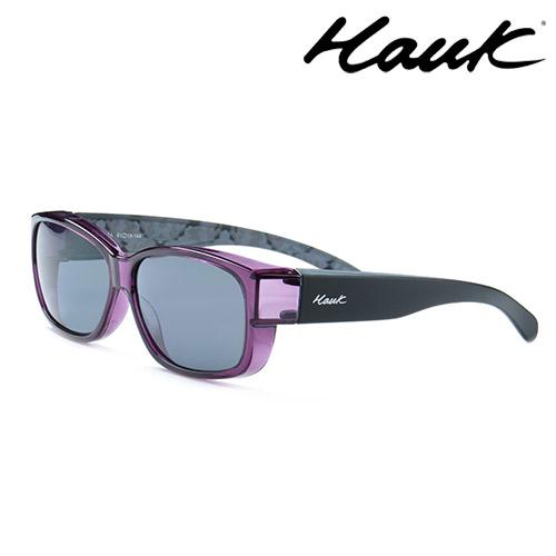 HAWK偏光太陽套鏡(眼鏡族專用)HK1004-12A