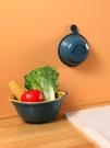 瀝水盆 怡點 抖音同款洗菜盆瀝水籃塑料圓形多功能創意雙層家用小號廚房 晶彩 99免運