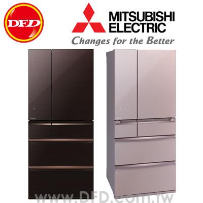 三菱 MITSUBISHI MR-WX71Y 六門冰箱 705L 可製冰 日本原裝 水晶棕/水晶粉 ※運費另計(需加購)