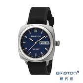【官方旗艦店】BRISTON SPORT 深藍色錶盤 不銹鋼框 百搭實用 男士經典款 禮物首選
