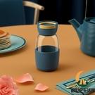 玻璃杯便攜可愛咖啡杯【創世紀生活館】